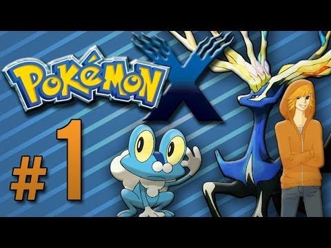 Pokemon X - Part 1: The Quest Begins