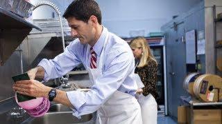Paul Ryan's Pathetic Soup Kitchen Photo Op
