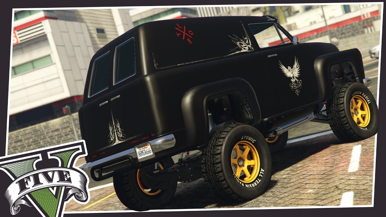 CUSTOM LIFTED TRUCKS IN GTA 5! - YouTube