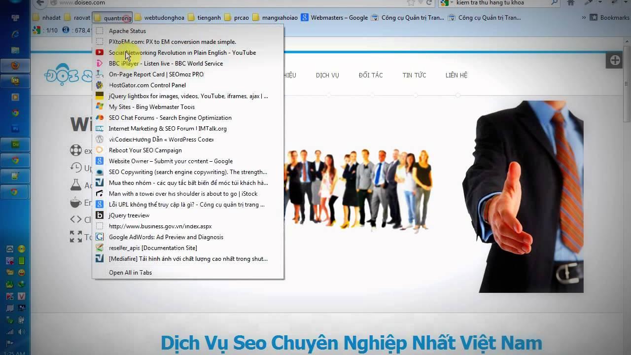 Video hướng dẫn kiểm tra thứ hạng từ khóa chuẩn 100% trên Google