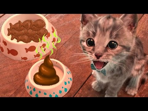 Little Kitten Adventures - Play Cute Little Kitten Learn Color Shapes, Mazes, Dress Up Party Games