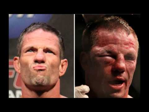 Лица бойцов UFC до и после боя