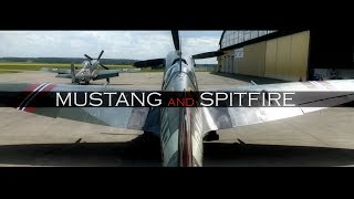 P-51D Mustang and Spitfire Mk.IX starring Jan Andersson and Lars Ness.