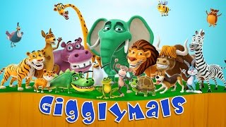 Gigglymals - Funny Animals Interactions - Official Trailer - Best Apps for kids and toddlers