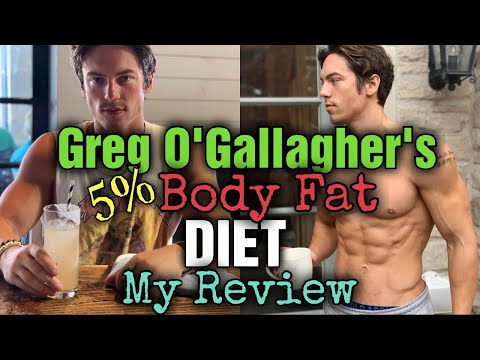 Reacting To Kinobody's Greg O'Gallagher: Diet to get to 5% bodyfat! thumbnail
