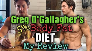 Reacting To Kinobody's Greg O'Gallagher: Diet to get to 5% bodyfat!