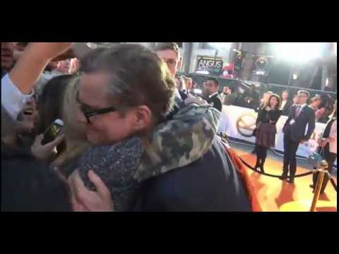 How To Get a Cute Spontaneous Hug from Lovely Colin Firth :