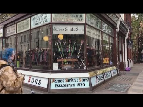Europe's Oldest Umbrella Shop, James Smith & Sons - KING 5 Evening
