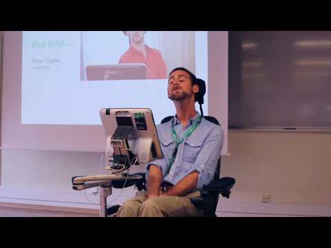 Ryan Carter And What His Tobii Dynavox Device Means To Him... - A Video From Tobii Dynavox