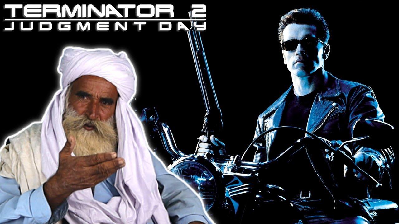 Tribal People React to Terminator 2 Judgment Day Trailer Arnold Schwarzenegger