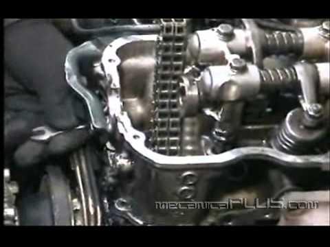 Ajuste de Motor NISSAN 2.4 1a parte - Quitando la cabeza 6 - www.mecanicaplus.com