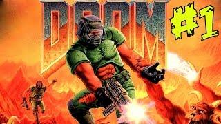 Прохождение The Ultimate Doom [1995] Эпизод 1 — Knee-deep in Dead (По колено в мёртвых)