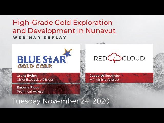 Blue Star Gold Corp.   Webinar Replay