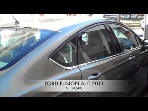 Accidentado Ford Fusion Aut 2013 AutoComercia