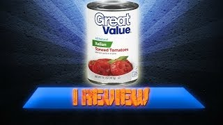 I Review Great Value Italian Stewed Tomatoes