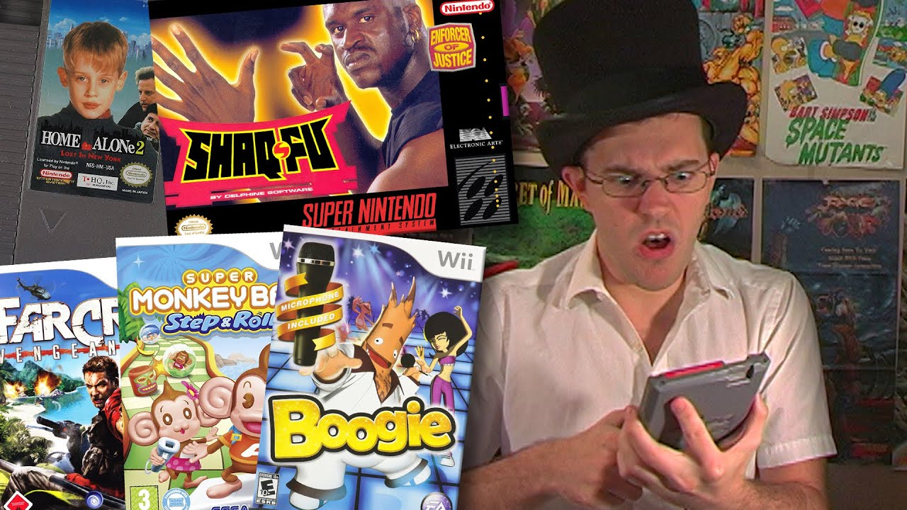 Christmas Carol Part 1 - Angry Video Game Nerd - Episode 38 - YouTube