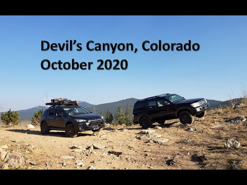 Devil's Canyon Trail (Partial) in Subaru Crosstrek