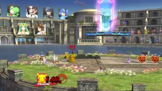 Super Smash Bros. for Wii U - SSB Wii U   All Star Gameplay - User video