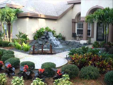 Front Garden Ideas I Front Garden Parking Ideas YouTube