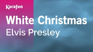 Karaoke White Christmas - Elvis Presley *
