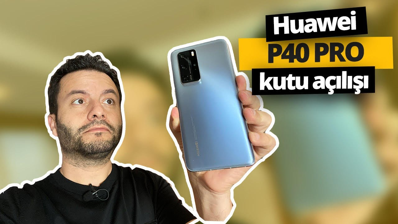 Huawei P40 Pro elimizde! (Video ve fotoğraf canavarı)