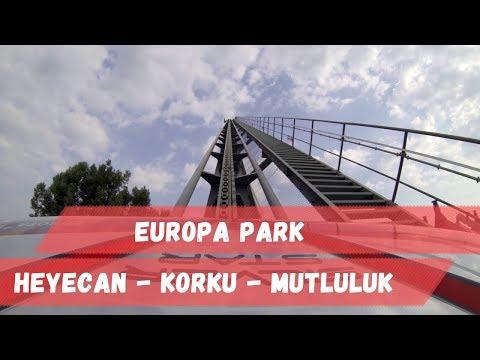 Europa Park - Heyecan - Korku - Mutluluk -Mercedes yapınca böyle oluyor...