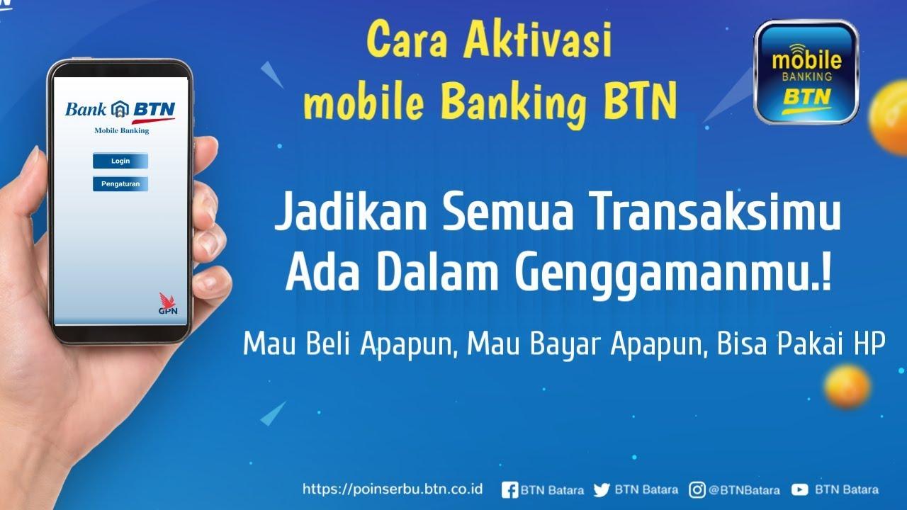 Cara Daftar Mobile Banking Btn Lewat Atm - Daftar Ini