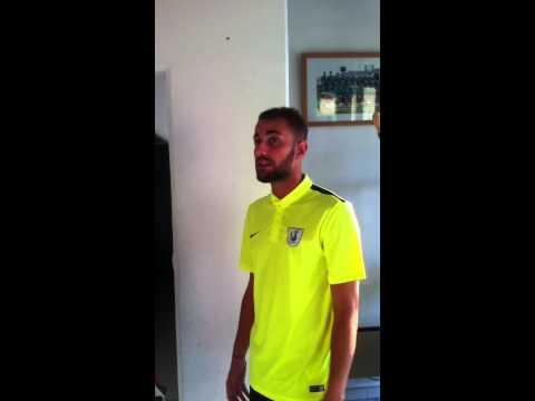 Réaction d'après match, FC Sète 0 – Martigues 0, 15 Août 2015.