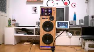 Loa Karaoke di động 400w