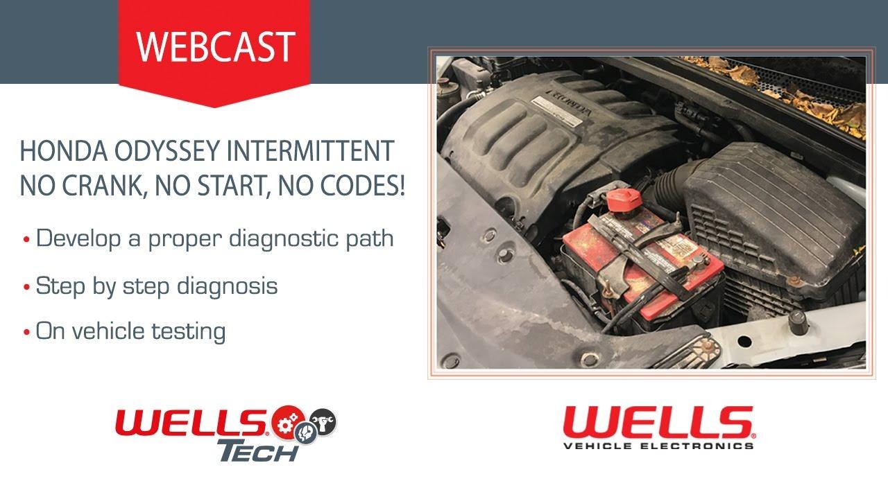 2006 Honda Odyssey Intermittent No Crank Start Codes 2011 Engine Diagram