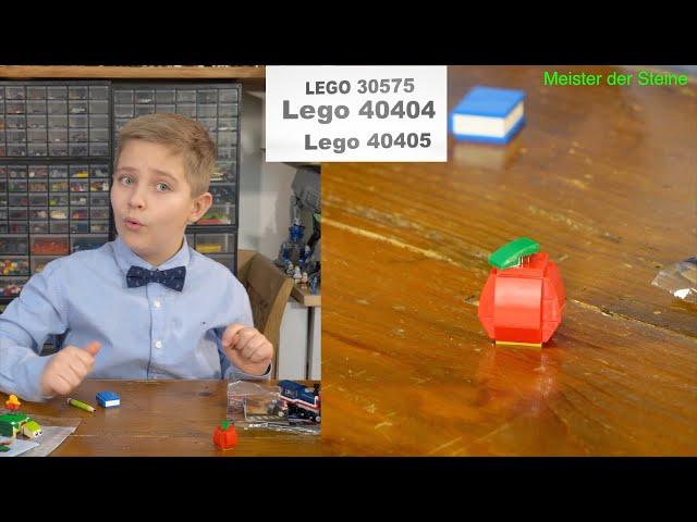 Gratis Sets, Lego 30575, 40404, 40405, Meister der Steine