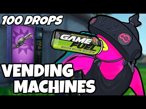 I Dropped Vending Machines 100 Times And This Is What Happened