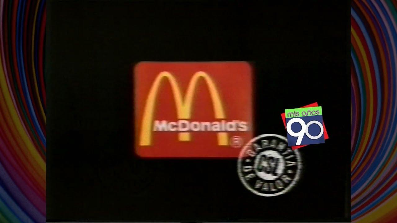 Resultado de imagen para mcdonalds en los 90