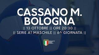 Serie A1M [6^]: Cassano Magnago - Bologna 28-23