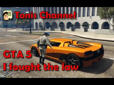 GTA 5 Mission I fought the law. Pursuit Race.
