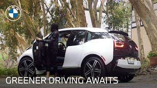 homepage tile video photo for Renewable Car Technology for Greener Driving | 2020 BMW i3 | BMW USA