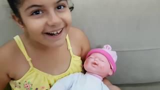 Yeni bebeğim çok ağladı -eğlence tv-my new baby is crying a lot-Eğlence Tv-fun kids video
