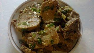Язык свиной маринованный.  Language marinated pork(Как приготовить очень вкусный свиной язык маринованный. How to cook a delicious pickled pork tongue., 2015-08-10T18:13:06.000Z)