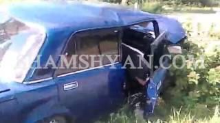 Երևան Սևան ճանապարհին 32 ամյա վարորդը 07 ով բախվել է բետոնե սյանը