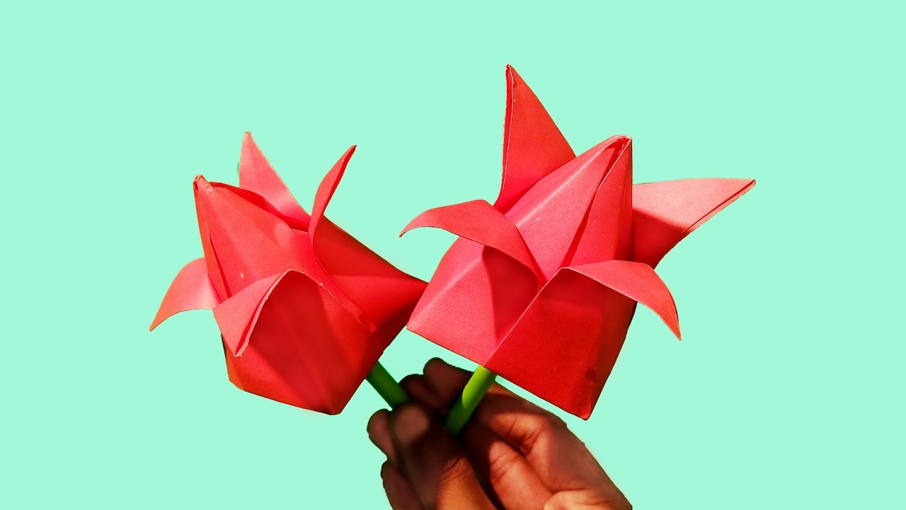 Water Lily Origami Diagram psychologyarticlesfo | Free printable ... | 720x1280