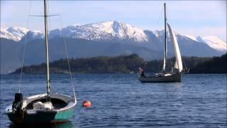 Sailing in Hardanger Norway
