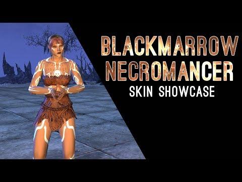 Blackmarrow Necromancer Skin - Dragon Bones DLC The Elder Scrolls Online ESO