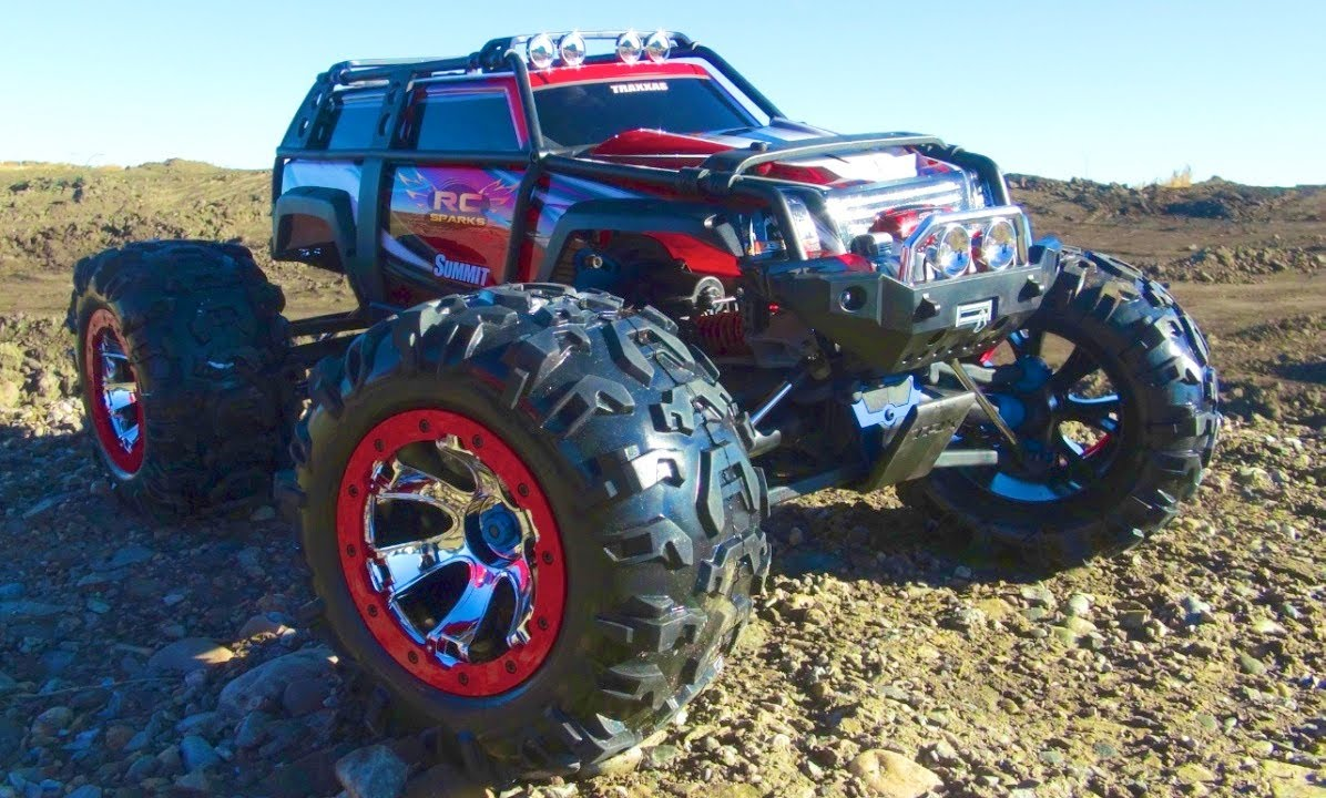 rc adventures traxxas summit running video 4x4 rc. Black Bedroom Furniture Sets. Home Design Ideas