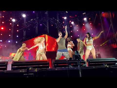Ricky Martin Concierto live en Cádiz - FIEBRE 31.8.18 (primera fila/front row) HD