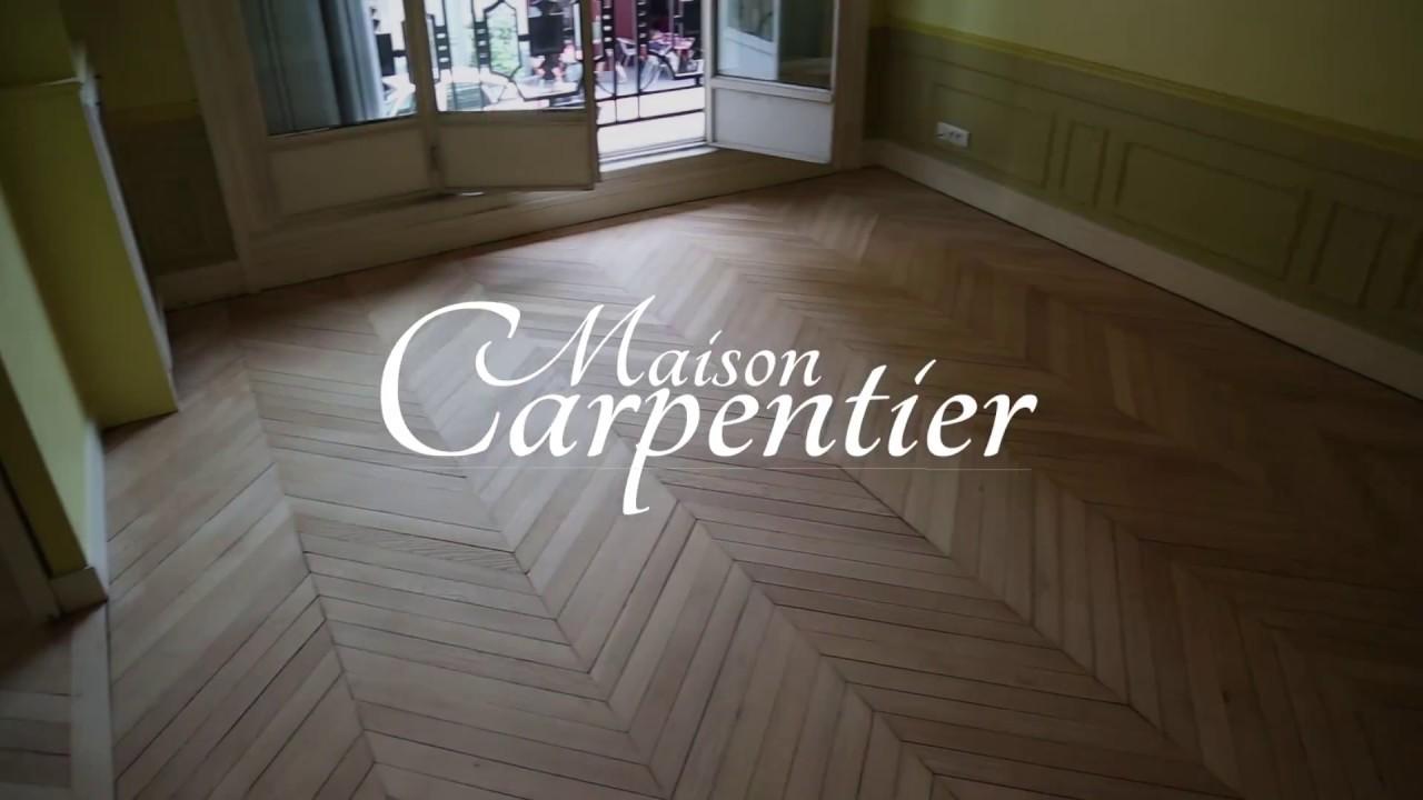 Poncer Un Parquet Ciré maison carpentier ponçage parquet paris vitrification rénovation