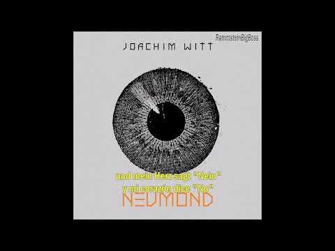 Joachim Witt - Mein Herz (Alemán - Español)