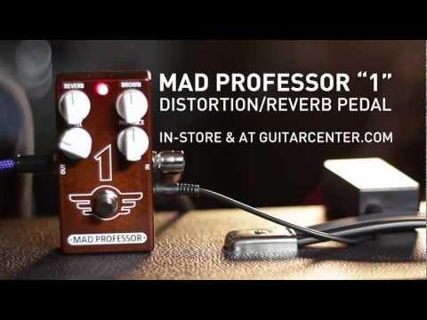 "Mad Professor ""1"" Reverb/Distortion Pedal Demo"