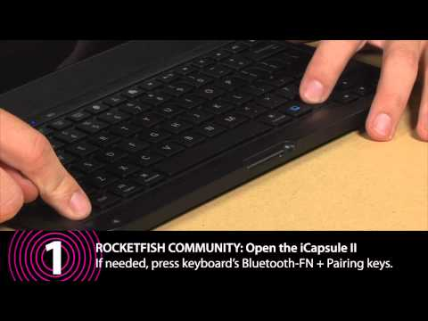 ROCKETFISH READY: ICAPSULE II