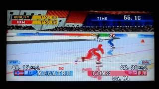 Nagano Winter Olympics 98 PS1 Speedskating 1500m