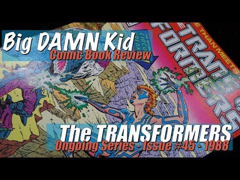 Lights, Camera, Skullgrin Vs Circuit Breaker! - The Transformers Issue 45
